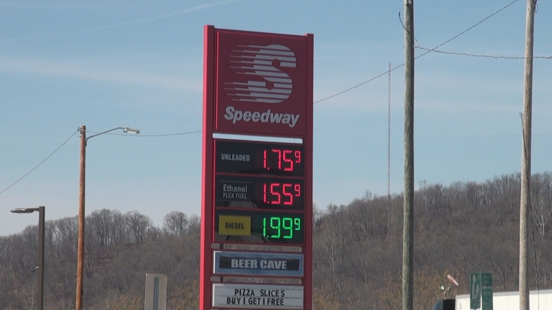 Gas tax would have added 30-cents, only when prices below $2.00