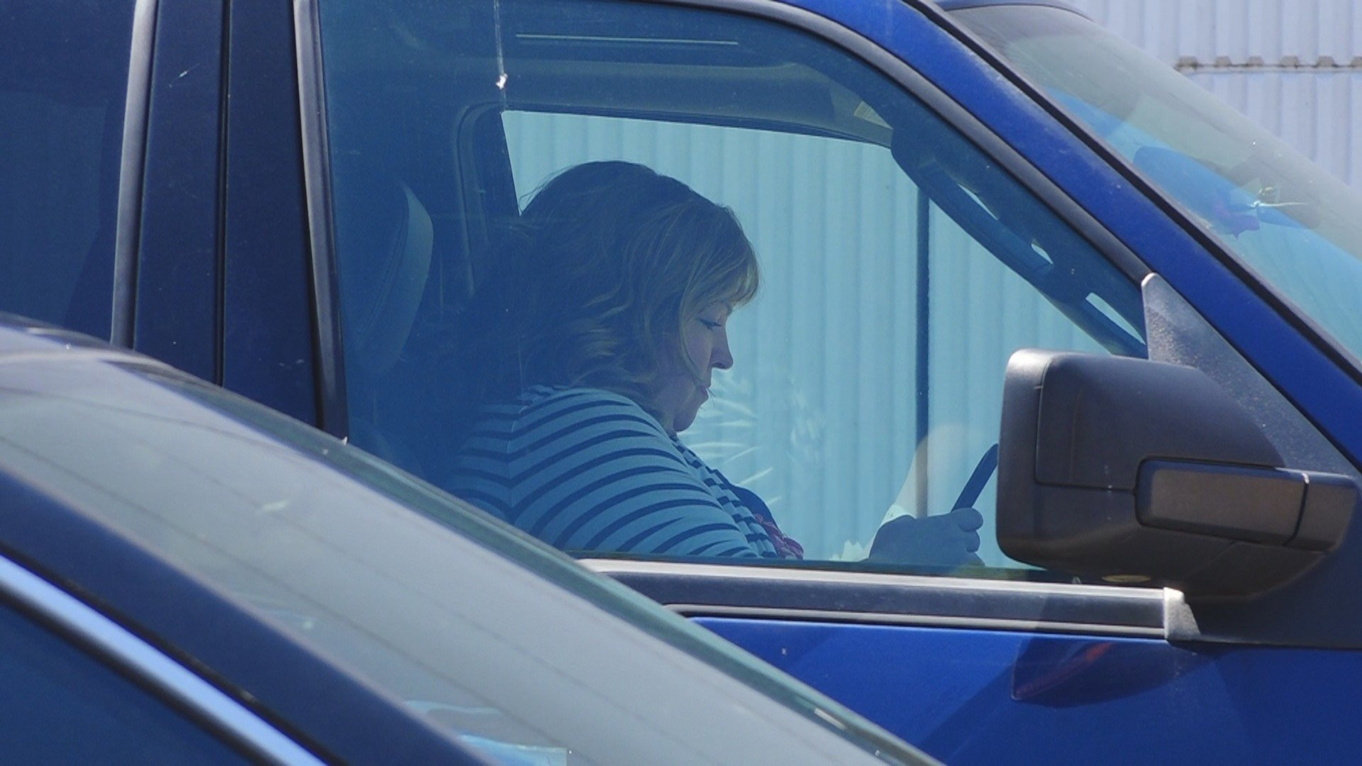 613 Texting and driving tickets were issued in WV last year.