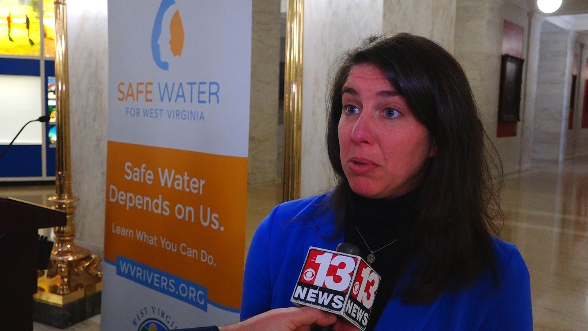 Angie Rosser is with West Virginia Rivers Coalition
