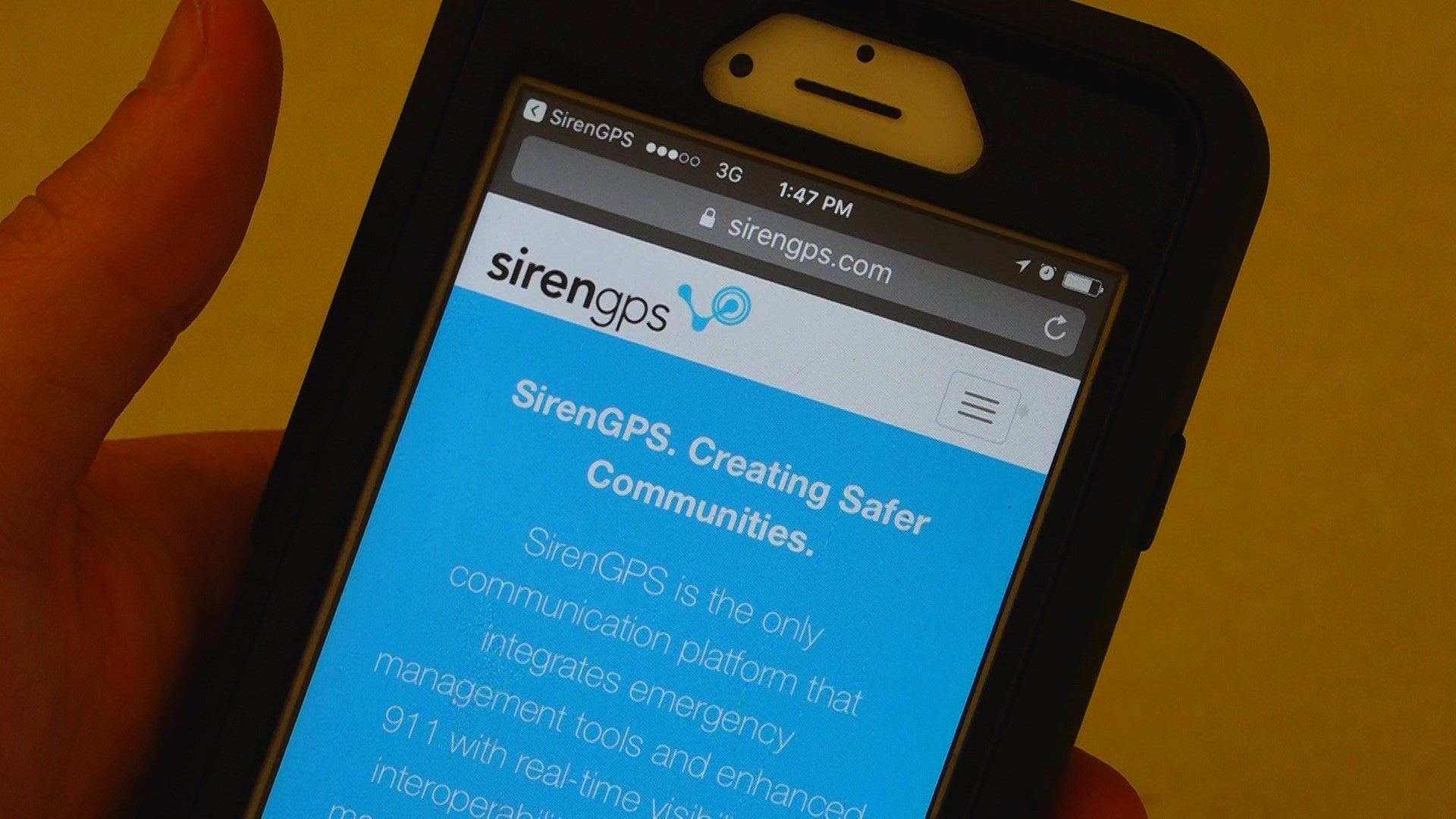 New cell phone apps might better locate emergencies