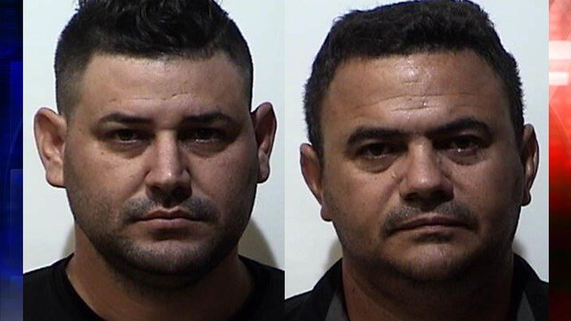 Pictured: (L-R) Yariel Hernandez, Reynaldo Licor / Courtesy: Christian County Jail