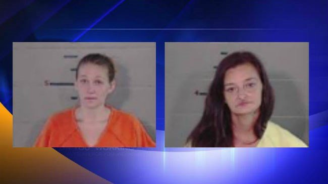 Brandice Kingsley (left), and Michelle Watkins (right). Courtesy Gallia County Sheriff's Office.