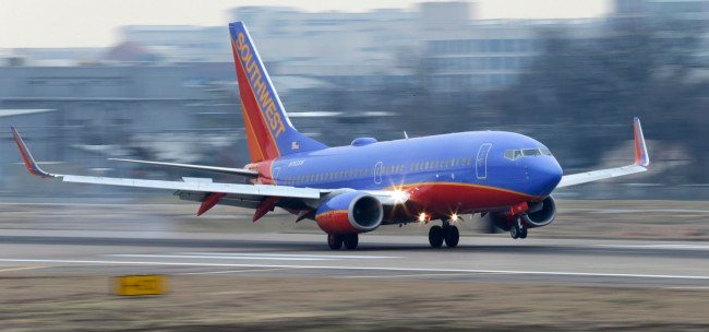 Southwest Airlines plane (AP Photo/LM Otero, File)
