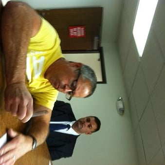 Charles Hogan in Kanawha County Magistrate Court/by David Iversen -- WOWK-TV