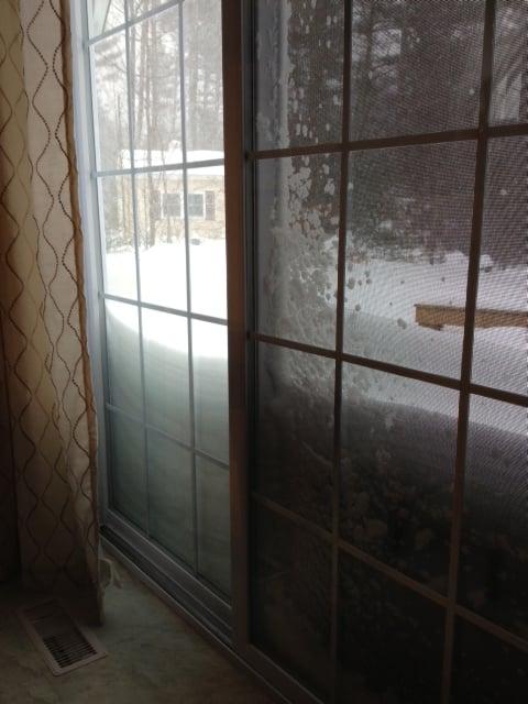 Snow Drifts in Auburn, NH Courtesy: Jean Mackin