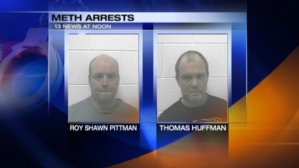 Photos of Roy Shawn Pittman and Thomas Huffman