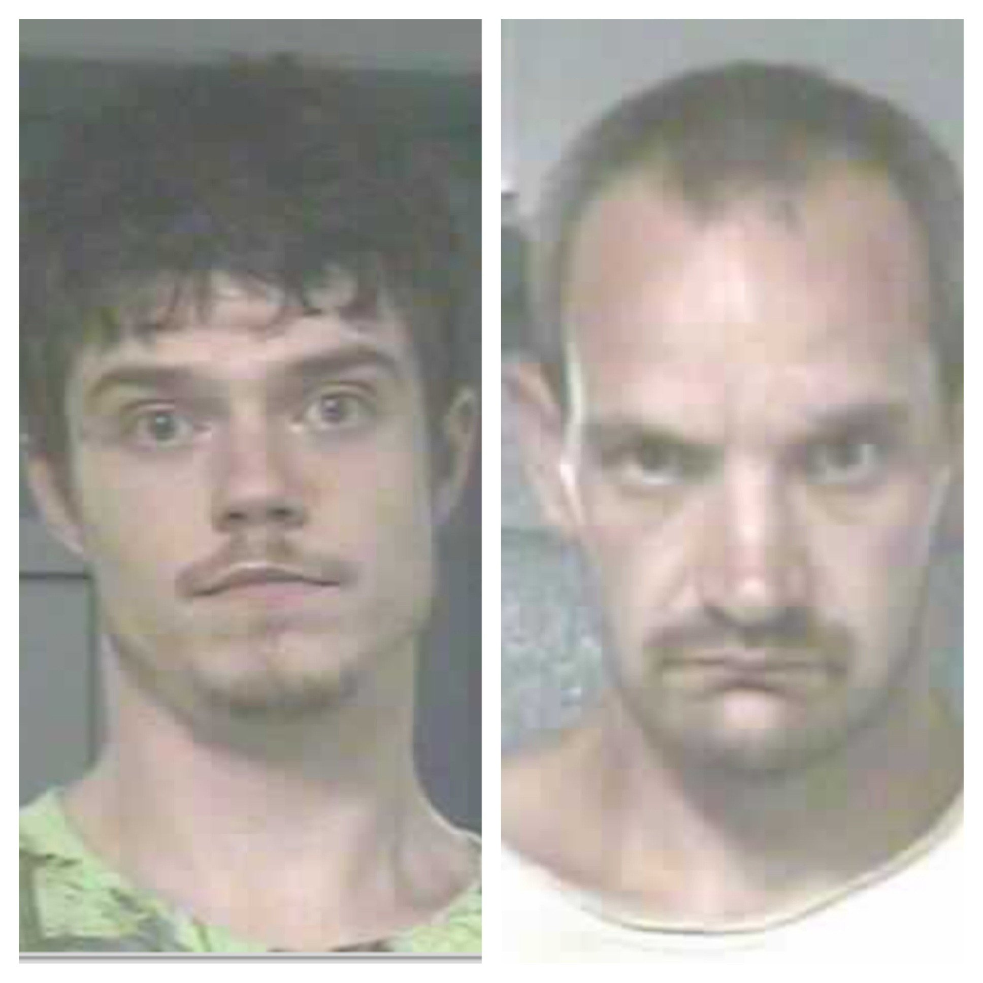Left: James Burdette, Right: Brian Scarberry