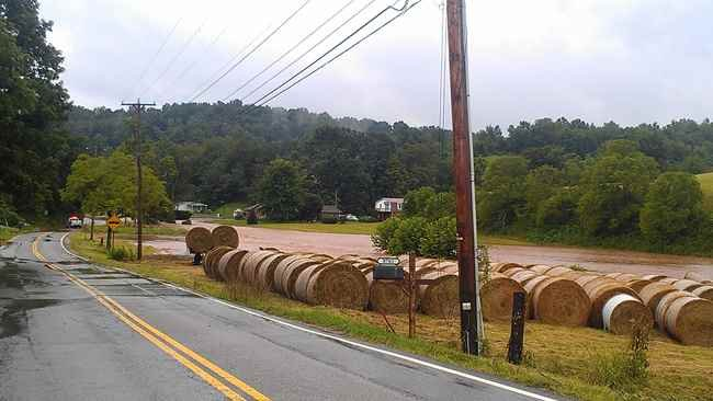 Photo Courtesy: Regina McCormick - Flooding in Jackson County, WV