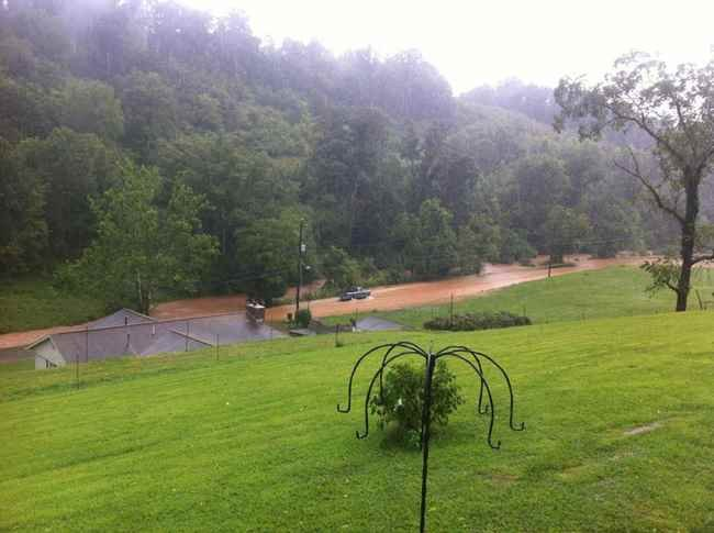 Photo Courtesy: Julia White - Flooding in Jackson County, WV