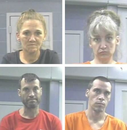 Top: Cindy Cremeans, Susan Williams; Bottom: James Young, Ronald Dodrill