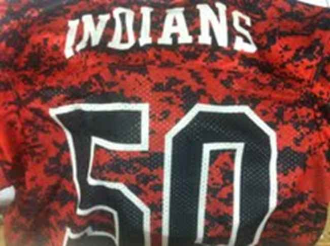 The back of Sissonville's new jerseys