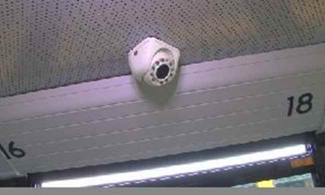 There are a total of eight cameras inside and outside Kanawha County school buses.