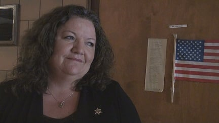 Reva Schoonover was named interim sheriff of Clay County, after Sheriff Miles Slack resigned.