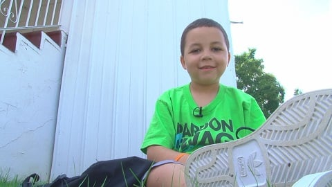 Trey Roy, childhood cancer survivor