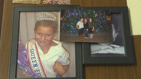 Ali Wymer, childhood cancer survivor