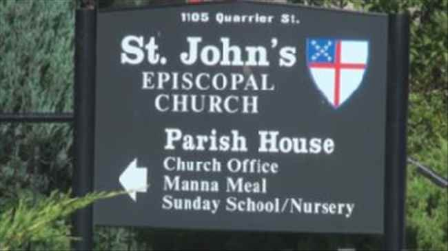 St. John's Episcopal Church in Charleston