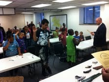 Youth in Charleston, WV learn the importance of firearm safety from law enforcement