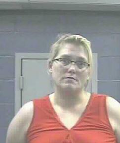 Elizabeth Dawn Miller was arrested for operation of a clandestine meth lab in Dunbar, WV.