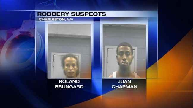 Two suspects accused of beating and robbing a man in Charleston, WV.