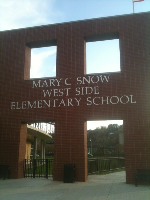 Mary C. Snow Elementary in Charleston, WV  was forced into a lock-down on Friday morning.