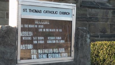 St. Thomas Catholic Church to help typhoon victims in the Philippines.