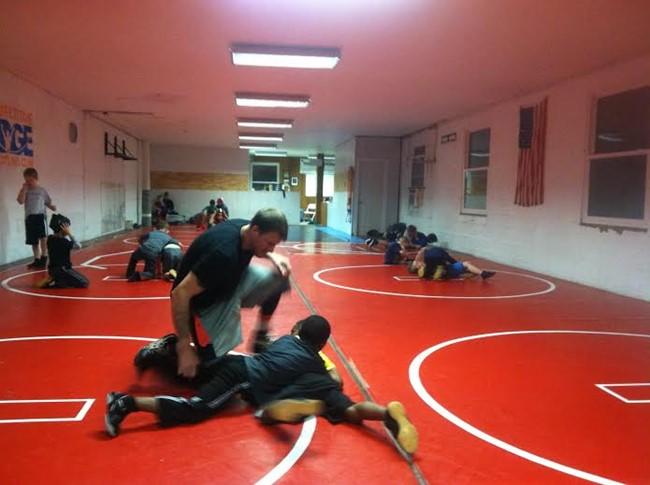 Charleston Little General wrestling team