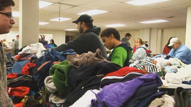 Church traveled from Michigan to Logan, WV, to help needy families during the holidays.