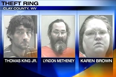 The three are accused of charges in relation to a violent burglary in Clay County.