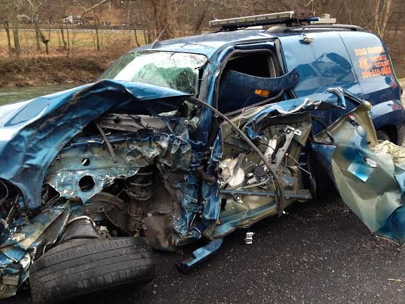 Accident on Route 3 in Boone County, WV; one injured