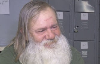Richard Allan Pennington lives at the shelter and also volunteers his time to other homeless Charleston residents.