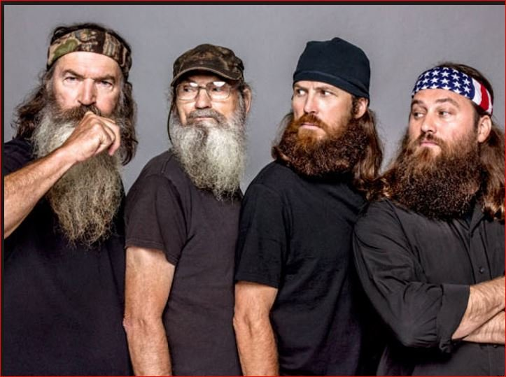 Stars of the popular reality TV series Duck Dynasty