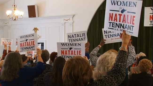 West Virginia women came together Thursday to launch an event in support of WV Secretary of State Natalie Tennant.