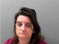 Belinda Fuller was arrested on third-offense prostitution in Huntington, WV.