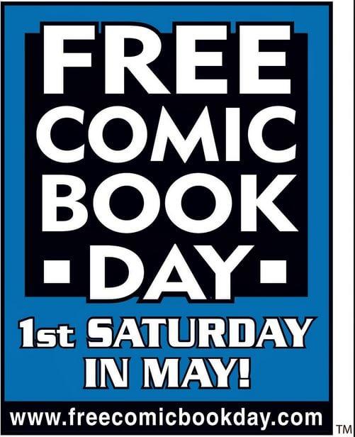 Free Comic Book Day (FCBD) is Saturday, May 3