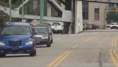 Traffic changes to Kanawha Boulevard
