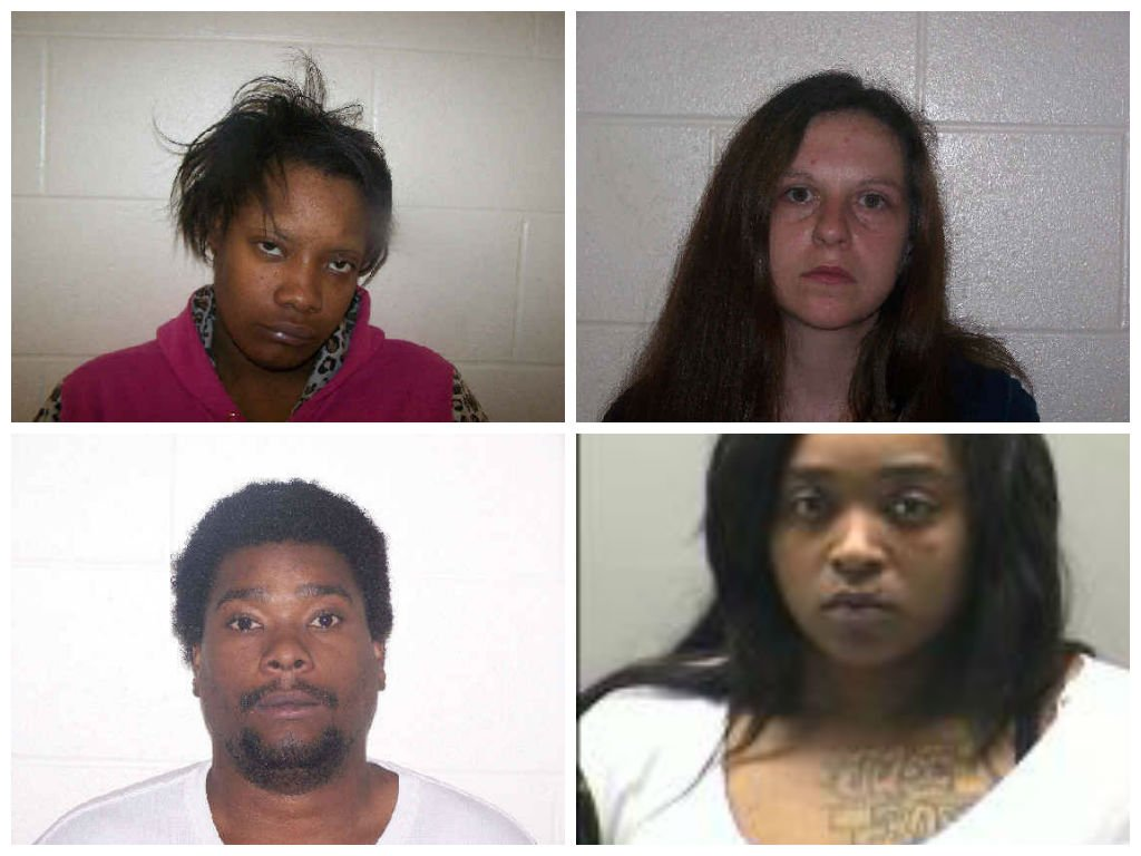 Brandi Bellfo, who police are still searching for, Amanda B. Price, Curtis O. Jackson, and Dawnetta A. Cargle.