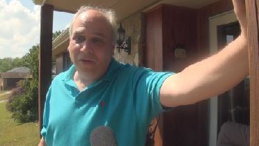 """""""Things get taken, and you can always get them covered on insurance,"""" says Mike Mazzone, whose home was broken into on Wednesday. """"Just the thought of somebody coming into your house is very unsettling."""""""