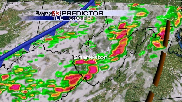Predictor Forecast Model at 6PM