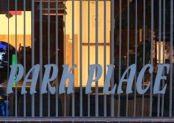Three were arrested after a raid at Park Place