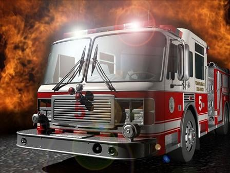 911 dispatchers in Cabell County said a house caught fire on Hughes Branch Road.