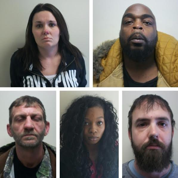 Five suspects arrested during drug bust in Boone County, WV