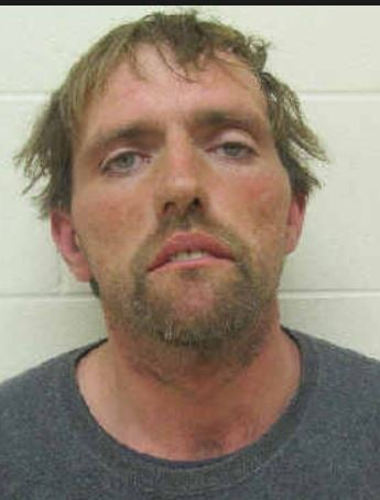 Chester P. Howard, arrested in Scioto County, Ohio on drug charges.