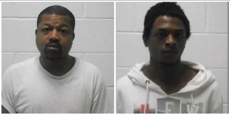 Brothers Mark Anthony Sidney (above left) and Timothy Holbert Sidney (above right) are accused of planning and carrying out a kidnapping and robbery in Logan County, WV.