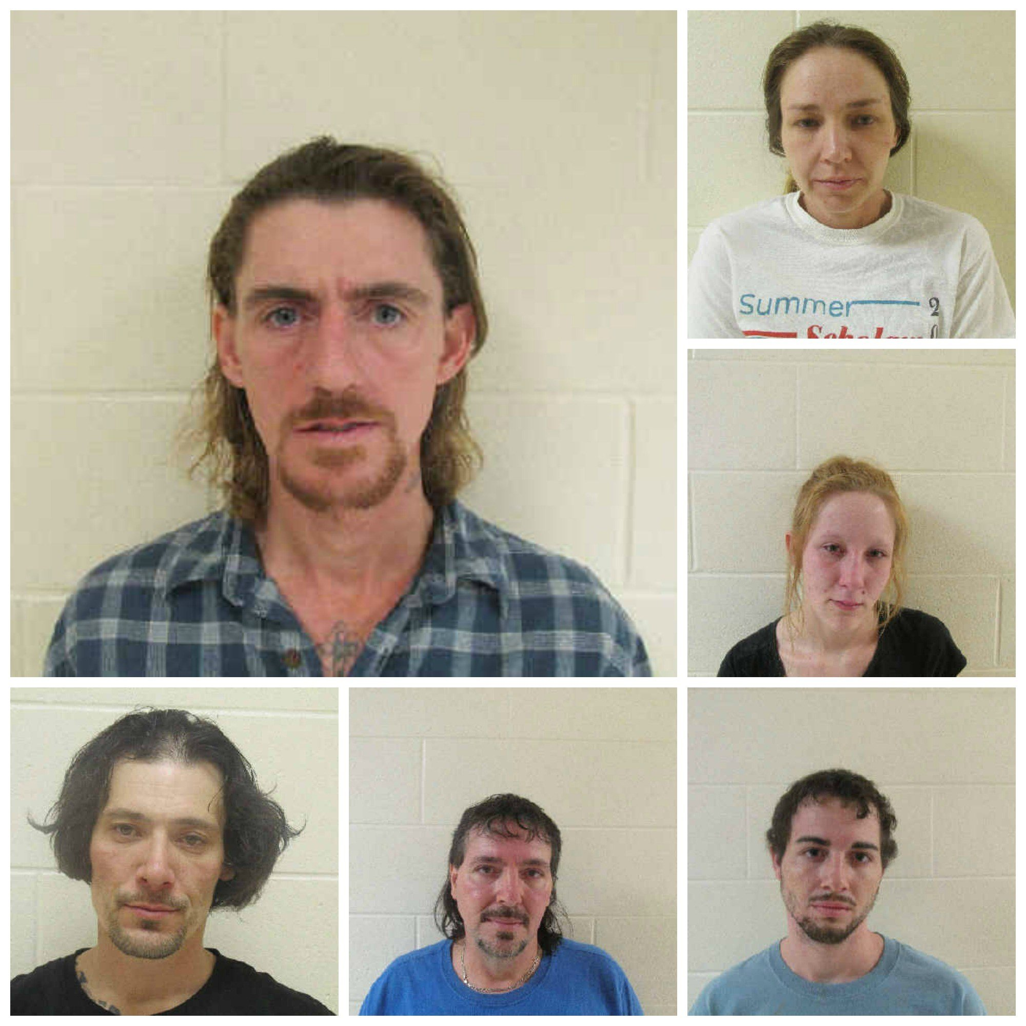 Rickey Mollett (upper left) is being sought by deputies in connection to a series of break-ins.  See inside for more charges.