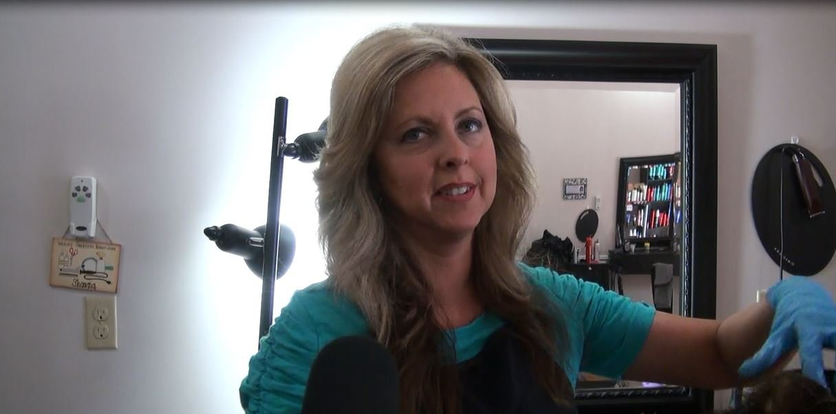 """""""I was very surprised to learn that would be something of a necessity,"""" says hair stylist, Shawna Nixon of Ironton. """"It made me think it was something that could occur, something maybe to look out for."""""""