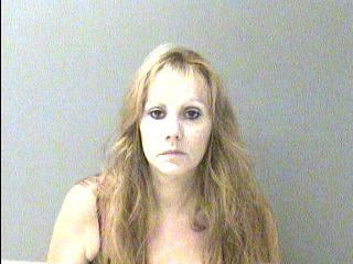 Kimberly Rhodes was arrested on robbery charges from two incidents seven months apart.