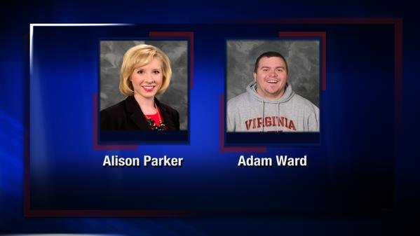 Alison Parker, 24, and Adam Ward, 27, a reporter and cameraman respectively for CBS Roanoke affiliate WDBJ-TV, died in the shooting, the station's general manager, Jeff Marks, said during a live broadcast later in the morning.