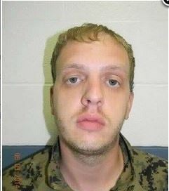Brandon Weese, sentenced to home confinement.