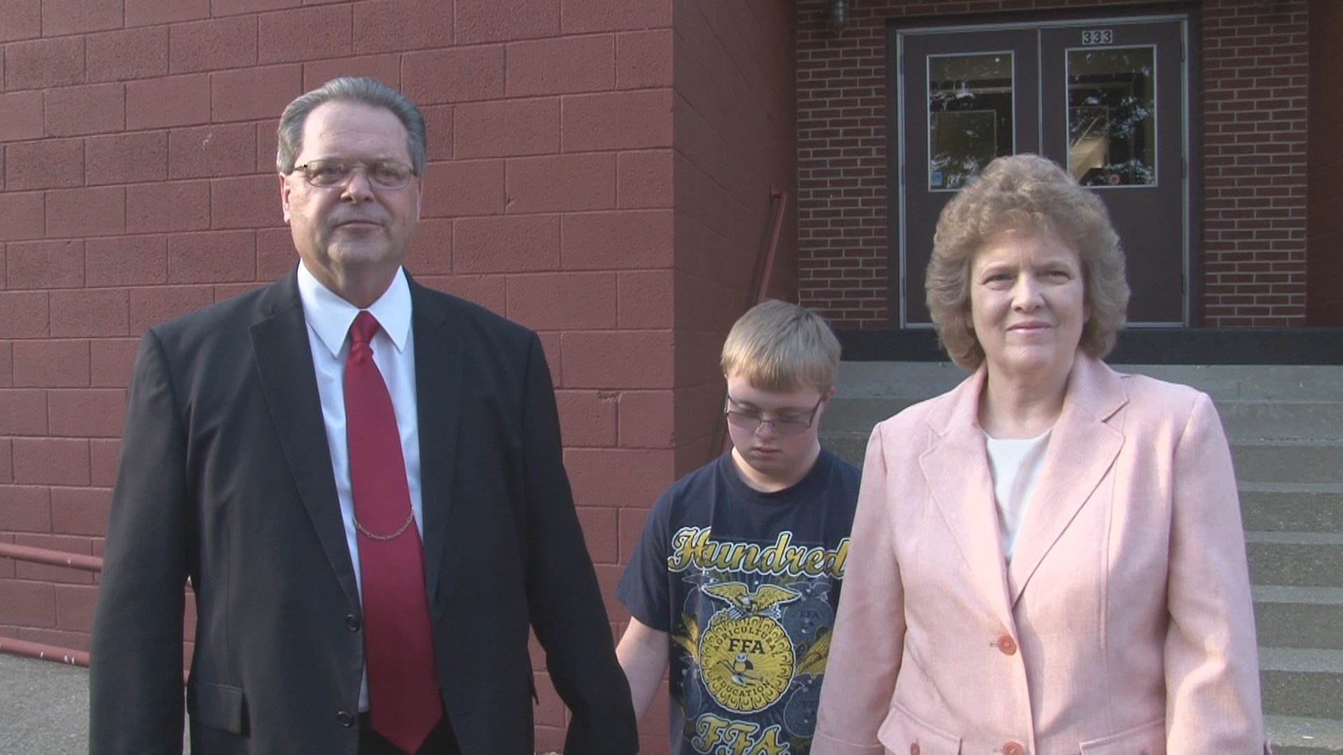The Wetzel County Board of Education informed 17-year-old Roy Stevens, a junior at Hundred High School, that he can no longer attend Hundred High School. His parents, Earl and Karen Stevens, are fighting the decision.