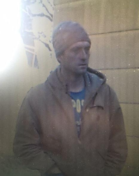 Suspect of interest in home burglary in Gallia County, Ohio.